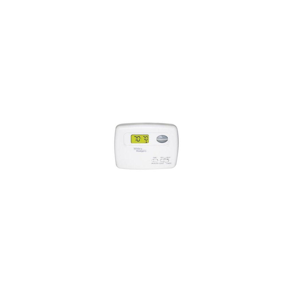 1f79 111 Whit T Stat Digital Non Prog 2h 1c Hp Re Supply